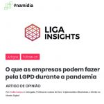 O que as empresas podem fazer pela LGPD durante a pandemia